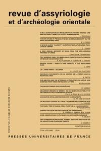 Revue dassyriologie et darchéologie orientale N° 113/2019.pdf