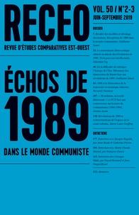 Ioulia Shukan - Revue d'études comparatives Est-Ouest Volume 50 N° 2-3, ju : Echos de 1989 dans le monde communiste.