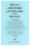 Marc Fumaroli et Delphine Denis - Revue d'histoire littéraire de la France N° 1, Mars 2012 : Le pastiche dans tous ses états (XIXe-XXe siècle).