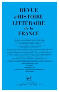 Pierre-Louis Rey - Revue d'histoire littéraire de la France N° 3, juillet-septem : .