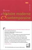 Sandrine Kott et  Collectif - Revue d'histoire moderne et contemporaine Tome 49 N° 2 Avril-J : Pour une histoire sociale du pouvoir en Europe communiste.