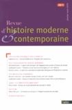 Fabien Locher et Natividad Planas - Revue d'histoire moderne et contemporaine Tome 60 N° 1, Janvie : .
