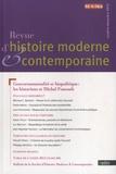 Anne Bonzon - Revue d'histoire moderne et contemporaine Tome 60 N° 4/4bis, o : Gouvernementalité et biopolitique : les historiens et Michel Foucault.