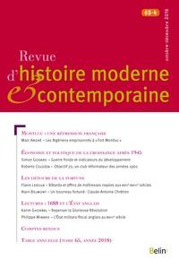 Philippe Minard - Revue d'histoire moderne et contemporaine Tome 65 N° 4, octobe : .