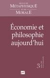 Claude Parthenay - Revue de Métaphysique et de Morale N° 3, Juillet-Septem : Economie et philosophie aujourd'hui.