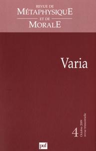 Revue de Métaphysique et de Morale N° 4, octobre 2009.pdf