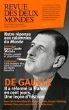 Valérie Toranian - Revue des deux Mondes Avril 2017 : De Gaulle : Les cent jours qui ont changé la France.