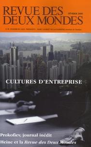 Eryck de Rubercy et Serge Prokofiev - Revue des deux Mondes Février 2006 : Cultures d'entreprise.