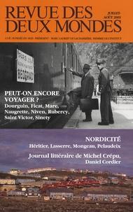 Michel Crépu et Eryck de Rubercy - Revue des deux Mondes Juillet-Août 2009 : .