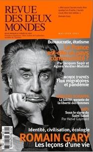 Valérie Toranian - Revue des deux Mondes Mai-juin 2021 : Romain Gary - Les leçons d'une vie.