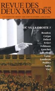 Mathieu Laine et Armand Laferrère - Revue des deux Mondes N° 4, Avril 2008 : Où va la droite ?.