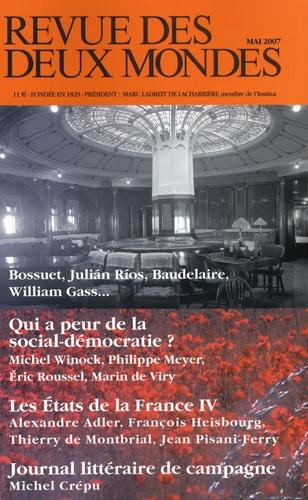 Michel Winock et Michel Crépu - Revue des deux Mondes N° 5, mai 2007 : .