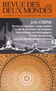 Dorian Malovic et Rémi Mathieu - Revue des deux Mondes N° 7-8, Juillet-Août : JO-Chine.