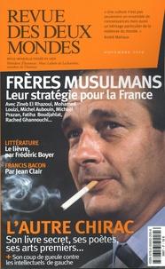 Thierry Moulonguet et Valérie Toranian - Revue des deux Mondes Novembre 2019 : Les stratégies des frères musulmans.