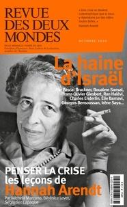 Valérie Toranian - Revue des deux Mondes Octobre 2020 : La haine d'Israël.