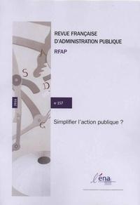 Revue française dadministration publique N° 157.pdf