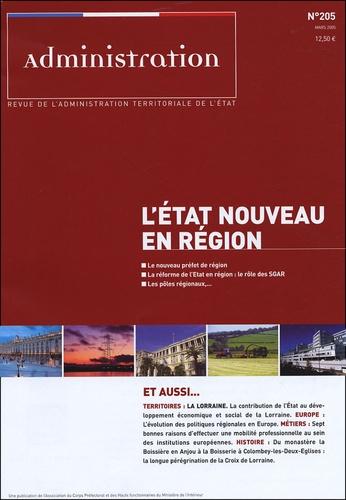 Bernard Landrieu - Revue française d'administration publique N° 205 : L'Etat nouveau en région.