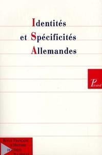 Picard Editions - Revue française d'Histoire des idées politiques N° 14 : Identités et spécificités allemandes.