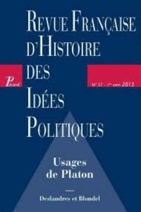Guillaume Bacot - Revue française d'Histoire des idées politiques N° 37, 1e semestre 2 : .
