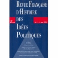 Picard Editions - Revue française d'Histoire des idées politiques N° 5 : .