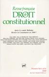 Didier Maus et André Roux - Revue française de Droit constitutionnel Hors-série 2008 : Réviser la Constitution en 2008 ? - Après le comité Balladur.