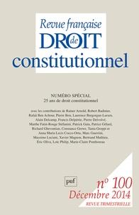 Revue française de Droit constitutionnel N° 100, Décembre 201.pdf