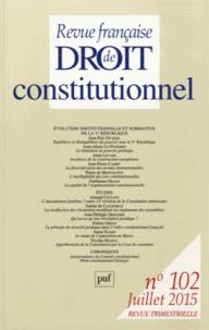 Revue française de Droit constitutionnel N° 102, Juillet 2015.pdf