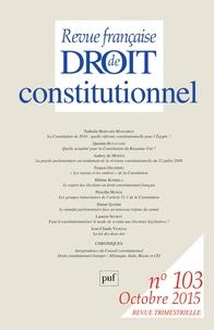 Revue française de Droit constitutionnel N° 103, Octobre 2015.pdf