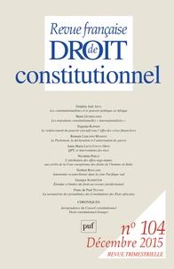 Revue française de Droit constitutionnel N° 104, Décembre 201.pdf