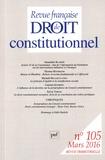 Amandine Blandin et Thomas Hochmann - Revue française de Droit constitutionnel N° 105, Mars 2016 : .