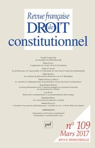 Revue française de Droit constitutionnel N°109, Mars 2017.pdf