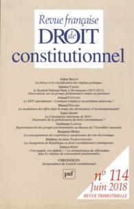 Revue française de Droit constitutionnel N° 114, juin 2018.pdf