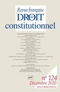 Frédéric Mériot - Revue française de Droit constitutionnel N° 124, décembre 202 : .