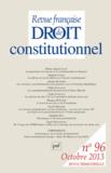 Monique Labrune - Revue française de Droit constitutionnel N° 96, Octobre 2013 : .