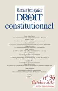 Revue française de Droit constitutionnel N° 96, Octobre 2013.pdf