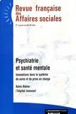 Ministère Affaires Sociales - Revue française des Affaires sociales N° 1, janvier-mars 2 : .