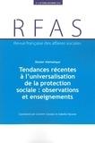 Ministère Affaires Sociales - Revue française des Affaires sociales N°  , 2018-4 : Tendances récentes à l'universalisation de la protection sociale.