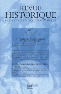 Florence Gherchanoc et Valérie Huet - Revue historique N° 641, Janvier 2007 : .