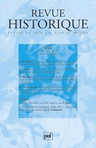Wolfgang P. Müller et Julie Claustre - Revue historique N° 644, octobre 2007 : .