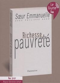 Soeur Emmanuelle - Richesse de la pauvreté. 1 CD audio MP3