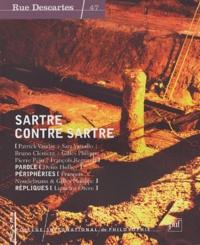 Patrick Vauday - Rue Descartes N° 47 : Sartre contre Sartre.