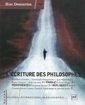 Frédéric Cossutta et Dominique Maingueneau - Rue Descartes N° 50 : L'écriture des philosophes.
