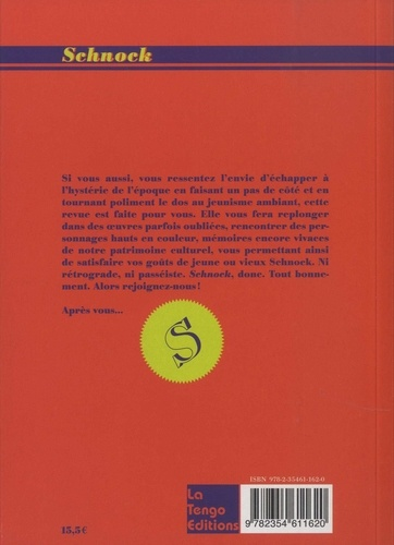 "Schnock N° 30, Printemps 201 Gérard Depardieu. ""J'aime bien les allumés !"""