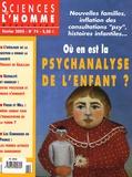 Armand Touati - Sciences de l'homme Cultures & Sociétés N° 74, Février 2005 : .