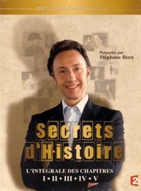 Stéphane Bern - Secrets d'histoire - L'intégrale des chapitres I à V. 25 DVD