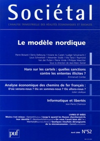 Pierre Boisard et Denis Delbourg - Sociétal N° 52, Avril 2006 : Le modèle nordique.