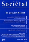 Thierry Aimar et Philippe d' Arvisenet - Sociétal N° 56, avtil 2007 : Le pouvoir d'achat.