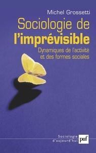 Michel Grossetti - Sociologie de l'imprévisible - Dynamiques de l'activité et des formes sociales.