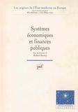 Richard Bonney - Systèmes économiques et finances publiques.