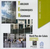 Jean-Jacques Malpot - Tableaux Economiques Régionaux Nord-Pas-de-Calais - CD-ROM.